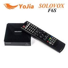 5 unids [original] SOLOVOX F6S Mini DVB-S2 HD Receptor de Satélite Soporte CCCAMD WEB TV USB Wifi 3G Biss Clave NEWCAMD Pronóstico del tiempo