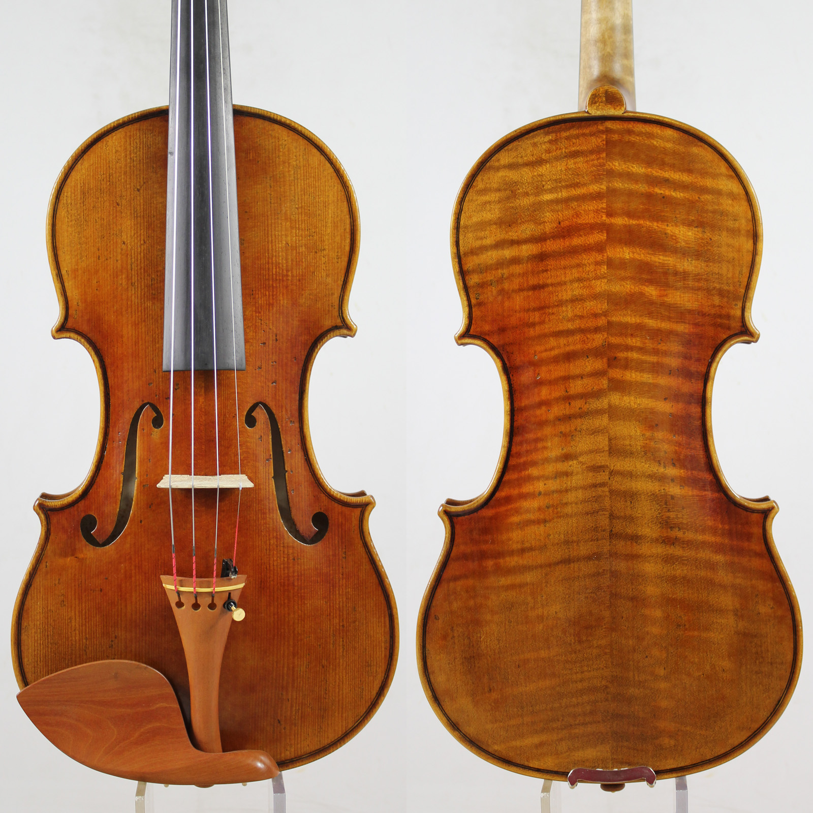 Italy Oil Varnish!Antique Oil Varnish!Copy Guarneri Violin 4/4 M5117 Powerful Clear Tone!, Free Shipping!