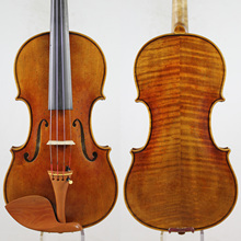 Italy Oil Varnish!Antique Oil Varnish!Copy Guarneri Violin 4/4 M5117 Powerful Clear Tone!, Free shipping! free shipping 4 4 violin flame maple back antique varnish spruce master powerful sound pro