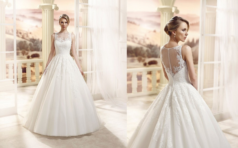 Ivory Ball Gown Wedding Dress: Robes De Mariage 2016 Ivory Ball Gowns Wedding Dresses