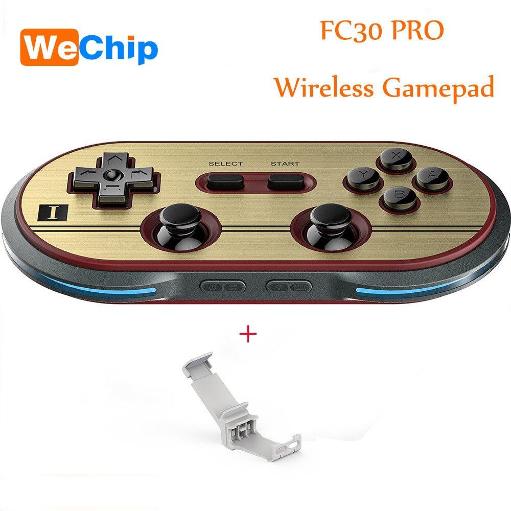 Wechip 8bitdo fc30 Pro Беспроводной bluetooth геймпад для IOS Android PC Mac Dual классический джойстик Спиннеры