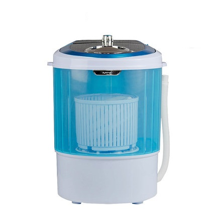 Freeshipping 240w Power Washer Can Wash 2.5kg Clothes+0.5kg Dryer Single Tub Top Loading Wahser&dryer Semi Automatic