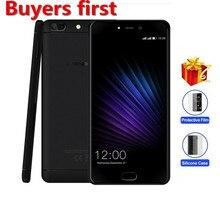 "Leagoo origine T5 Mobile Téléphone MTK6750T Octa-core 1920*1080 5.5 ""FHD 4 GB RAM 64 GB ROM Android 7.0 13MP D'empreintes Digitales Smartphone"