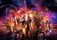 Infinity War Poster,NEW Marvel Avengers Movie  CHOOSE YOUR SIZE SILK POSTER