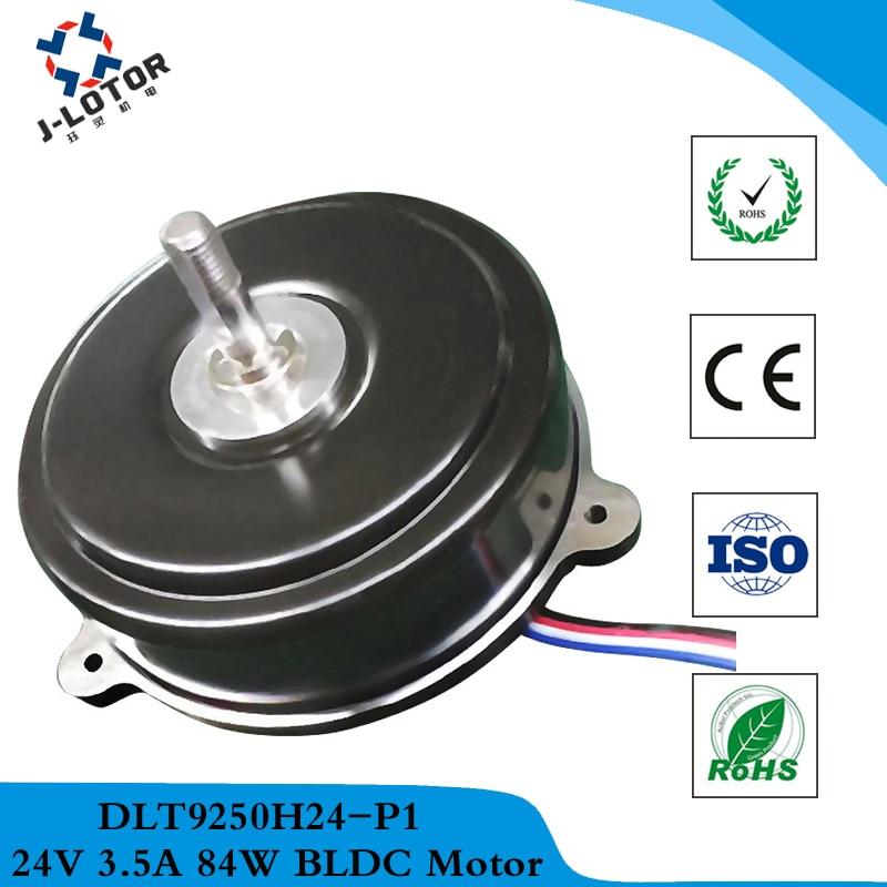 24V brushless DC motor 3.5A 84W 600NM External rotor centrifugal blower fresh air motor 92*50mm BLDC MOTOR цена