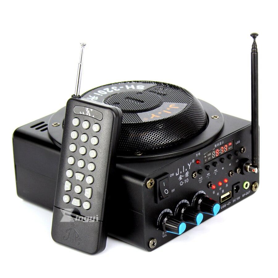 1 Pz Amplificatore del suono Bird Giocatore Suono Uccello Portatile MP3 USB EU