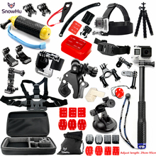 SnowHu for Gopro Accessories set for go pro Accessories for gopro hero 5 4 3 kit for SJCAM SJ4000  xiaomi yi 4k camera eken GS28