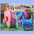 HOT Inflatable Princess Carriage Bouncy Slide Combo,Inflatable Trampoline for Rental Business,Commercial Quality