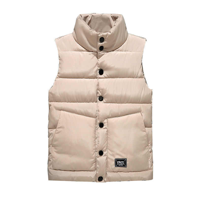 Vest Mannen Nieuwe Stijlvolle Lente Warm Mouwloze Winter Jacket Men Army Vest Heren Vest Mode Herfst Casual Jassen Plus Size 5XL