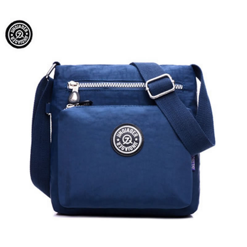 JINQIAOER Brand Waterproof Nylon Crossbody Bags for Women Quality Kip Style Fashion Design Shoulder Bag 2016 brand 40l waterproof nylon women