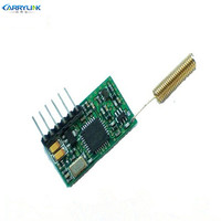 KYL 500S 1km Rf Module Transmitter Receiver Ttl 50mW Transceiver 433mhz Coil Antenna Data Communication