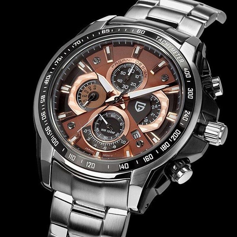 2019 Pagani Design Men's Watch Dive 30m Multifunction chronograph (MIYOTA) 1