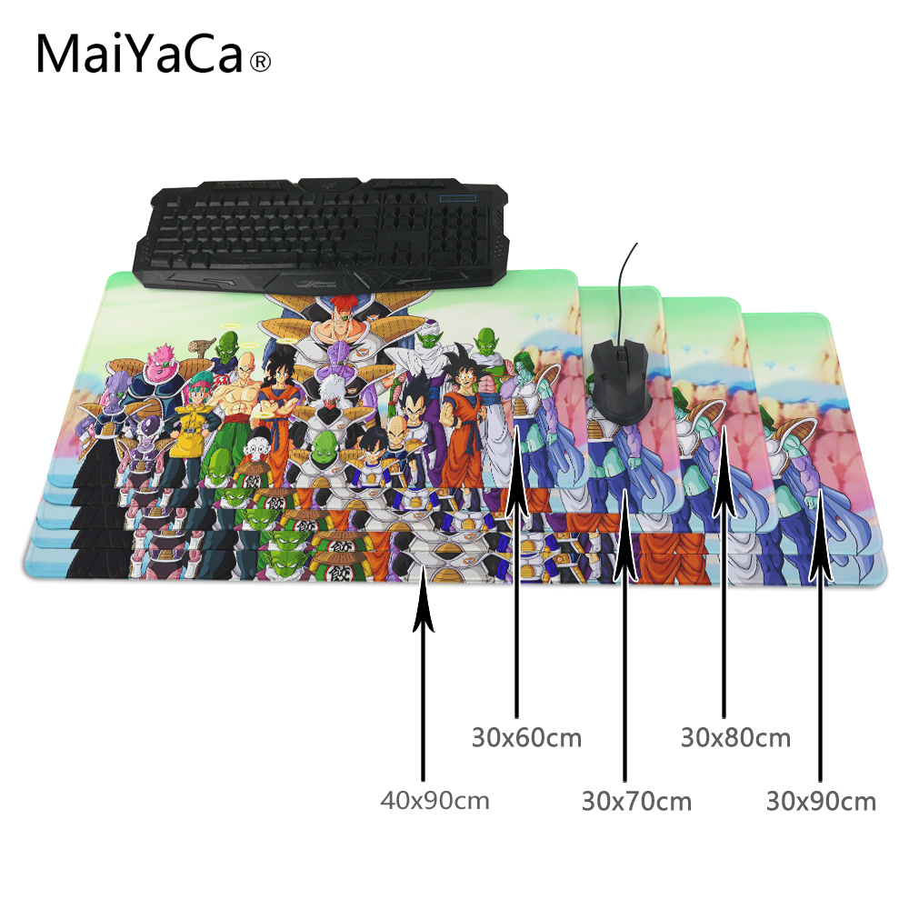 MaiYaCa Dragon Ball Mouse pads to Mouse Notbook Computer Mousepad Cheapest Gaming pad mouse Gamer to 90x30cm Mouse