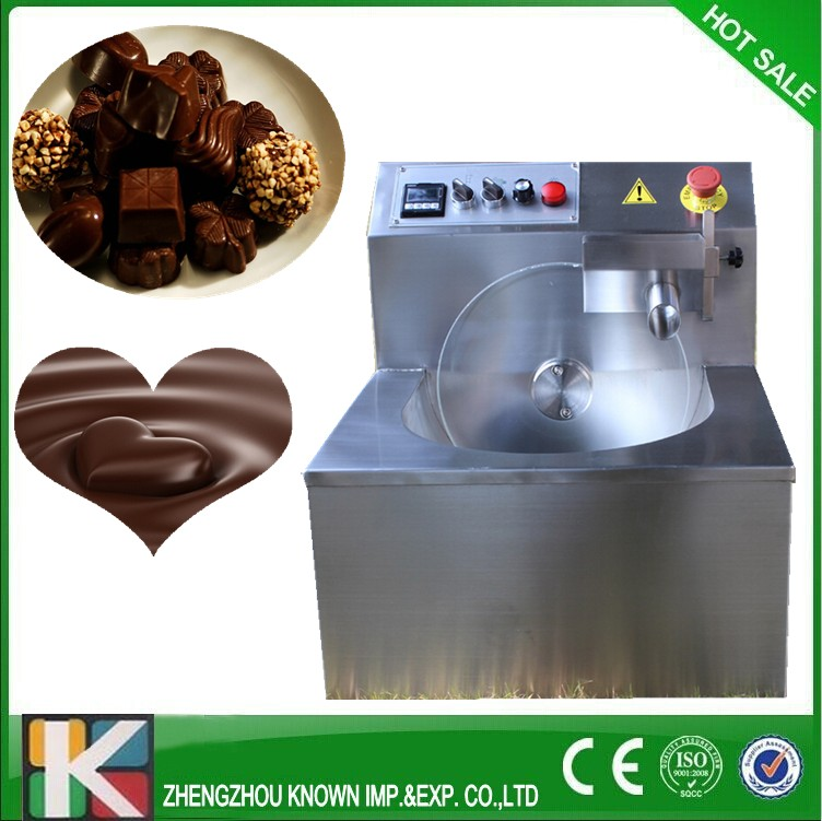 Chocolate Tempering Machine/Chocolate molding machine with 8 kg capacity stainless steel electric chocolate tempering machine for sale