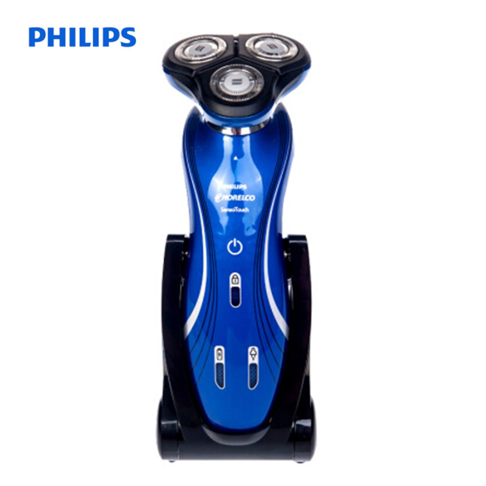 Philips RQ1150 Rechargeable Electric Shaver For Men 110-240V 3D Triple Floating Blade Heads Safe Face Care Beard Shaving Machine philips s551 electric double heads 3d shaver
