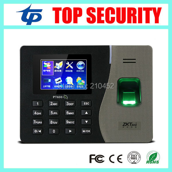 English, Spanish language fingerprint time attendance time clock TCP/IP biometric fingerprint reader biometric fingerprint access controller tcp ip fingerprint door access control reader