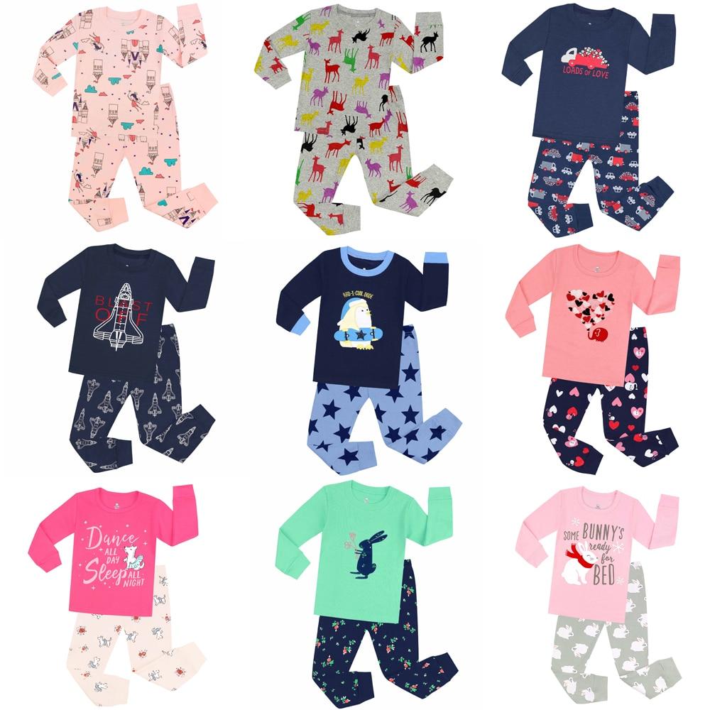 Boys Pajamas Children Sleepwear Pyjamas Kids Pijamas Girls Pajamas Baby Pajama Pijama Infantil Roupas Infantis Menins