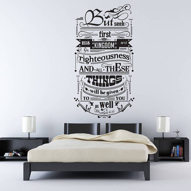 Stickers Murali Design.Us 8 98 25 Di Sconto Inspirational Citazioni Stickers Murali Design Contemporaneo Wall Sticker Per La Camera Da Letto Ufficio Decorazione Di Arte