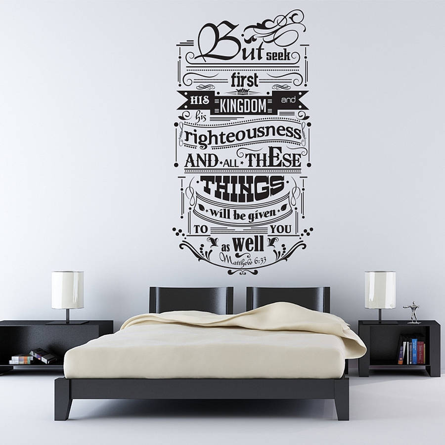 Buy inspirational quotes wall decals for Man u bedroom accessories