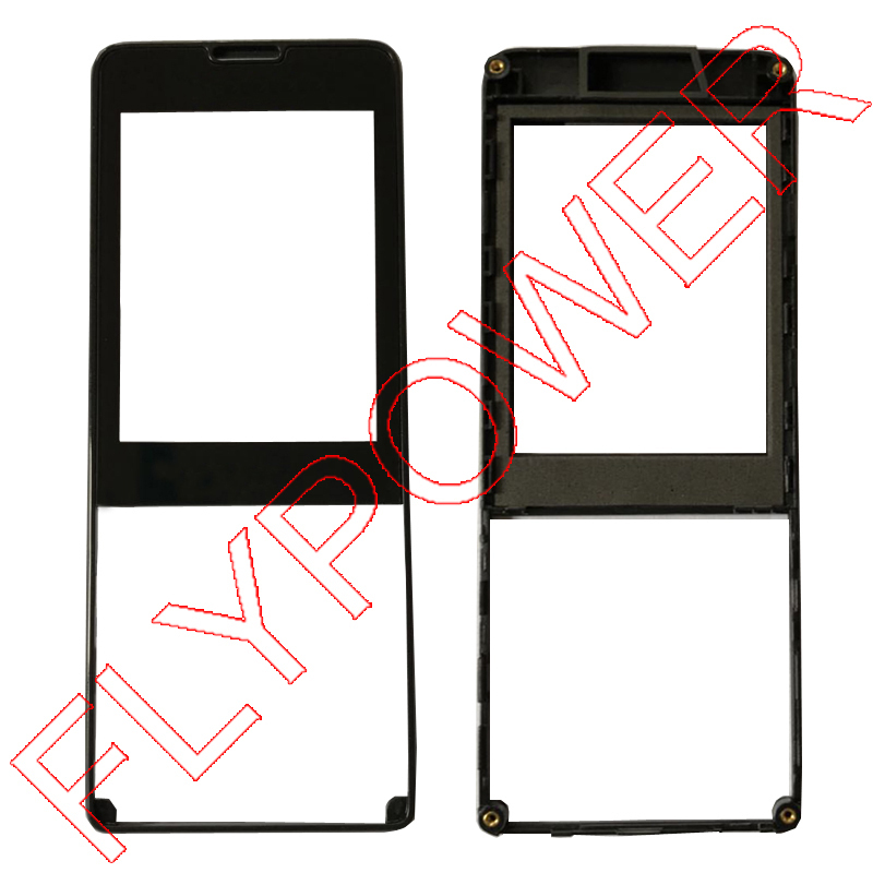 For Philips X1560 Touch digitizer Glass Screen +Front housing black by free shipping;100% warranty