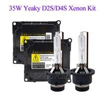 SKYJOYCE Auto Scheinwerfer HID Kit 35 watt Yeaky D2S D4S HID Xenon Birne 4500 karat 5500 karat 6500 karat D2R d4R D2S D4S Xenon Ballast 35 watt Yeaky Kit