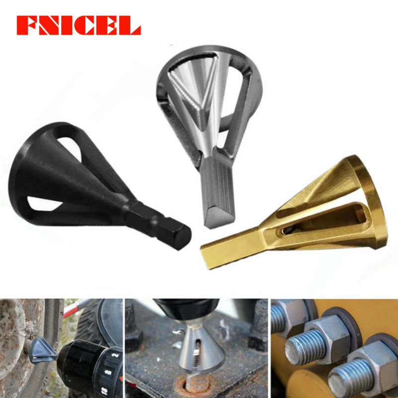 Metal Bit Deburring External Chamfer Tool Stainless Steel Remove Burr Tools For Metal Drilling Tool And All Types Drills Chuck