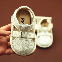 Baby Boy Girl Moccasins Shoes Infant Leather First Walkers Non slip Soft Newborn Sneakers Sport Crib Baby Shoes Boys Footwear