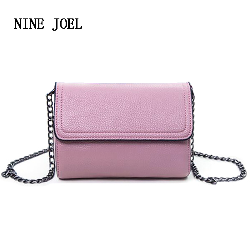 Luxury Designer 2017 Genuine Leather Women Bag Shoulder Bag Crossbody Bag Women's Clutch Messenger Bag Females Purse Fashion Hot