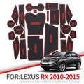 ZUNDUO Anti-Slip Fessura del Cancello Zerbino Per Lexus RX RX270 RX350 RX450h 2010 2012 2013 2014 2015 270 350 450h Accessori Non-slip Zerbino s