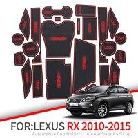 ZUNDUO Anti Slip Mat Ranhura Portão Para Lexus RX RX270 RX350 RX450h 2010 2012 2013 2014 2015 270 350 450h Acessórios Não slip mats|  -