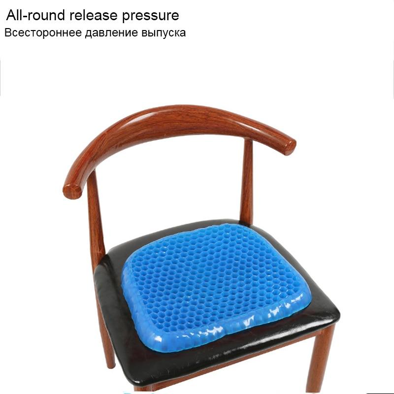 Almofada de Gel Macio Elástico Confortável Almofada