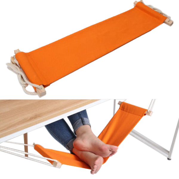 50pcs Lot Portable Mini Foot Rest Stand Desk Feet Hammock Easy To Disemble Home Study Library Comfortable Indoor In Hammocks From Furniture On