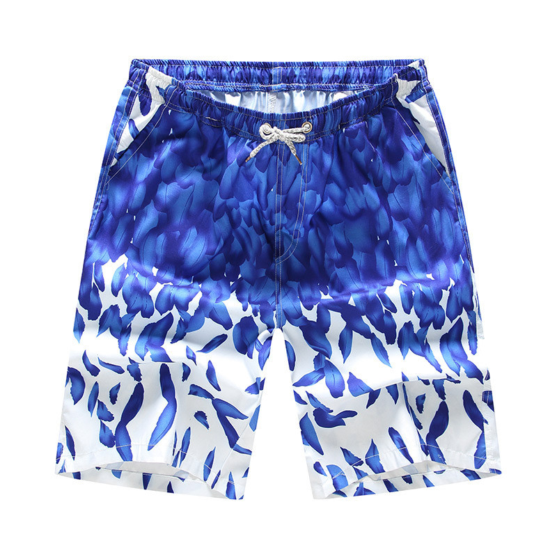 Silhouette of A Surfer and Tropical Landscape Mens 3D Print Graphic Quick Drying Board Shorts Shorts Beach