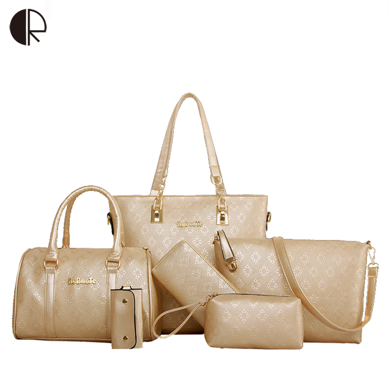 Luxury Women Bag Set Big Capacity Female Handbags PU Leather Crossbody Bag Fashion Shoulder Bag Purse Ladies Bolsas Feminina women bag set top handle big capacity female tassel handbag fashion shoulder bag purse ladies pu leather crossbody bag