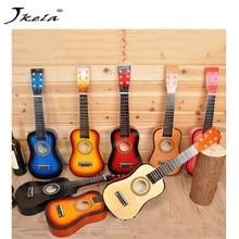 23-tommers barngitar Kan spille typen Barnas gitarbursdag Barnas musikkinstrumenter lyd leker