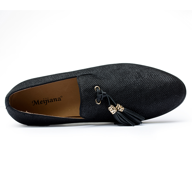 Handmade Metal fashion gold Tassel of Loafers Red Bottom Loafers Gentleman  Luxury Fashion Stress Shoes Men Brand Men Shoes-in Men s Casual Shoes from  Shoes ... d755870f24ca
