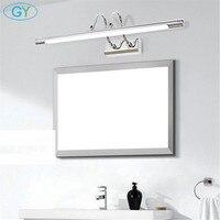 6W 10W L48cm L62cm Silver Chrome Vanity lights LED mirror light bathroom cabinet dressing table lamp make up tafel kaptafel