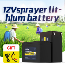 Kanavano High capacity DC12V super rechargeable polymer lithium ion battery 7A LiFePO4 12.6v  9A 18650 battery цена