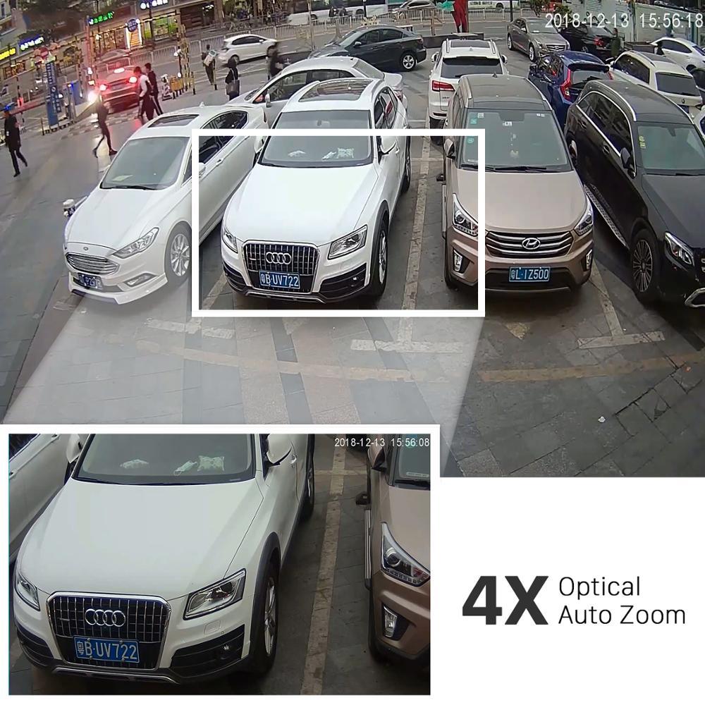 ANBIUX 4CH H.265 PTZ 5.0MP POE 4X Zoom NVR Kit CCTV System IP Kamera Outdoor Video Sicherheit Überwachung Set Im Freien wasserdicht