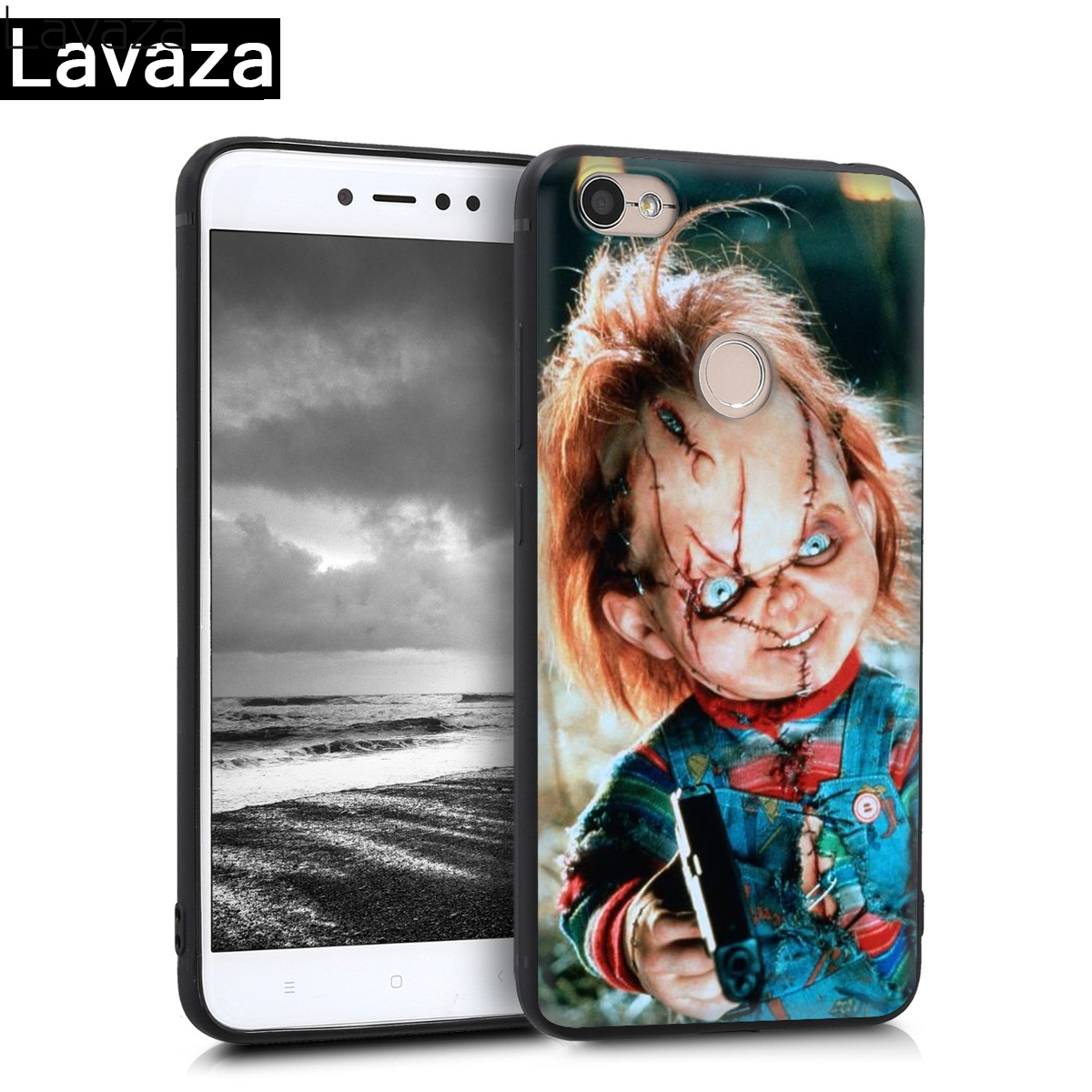 Lavaza Charles Lee Ray Chucky Doll Silicone Case for Redmi 4A 4X 5A S2 5 Plus 6 6A Note 4 Pro 7 8 k20 Prime Go in Fitted Cases from Cellphones Telecommunications