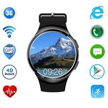 X3 Plus Amoled Android 5.1 Bluetooth 4,0 Smart Uhr MTK6580 1 GB/8 GB Unterstützung WIFI Google App 3G Smartwatch für IOS Android telefon