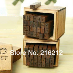 Freeshipping! 28 pcs/set NEW schoolbook stamp stamp set/wooden box/Decorative DIY funny work/uppercase& lowercase/ JK23 bon jovi 11cd 1dvd box set complete collection special edition music cd boxset brand new freeshipping