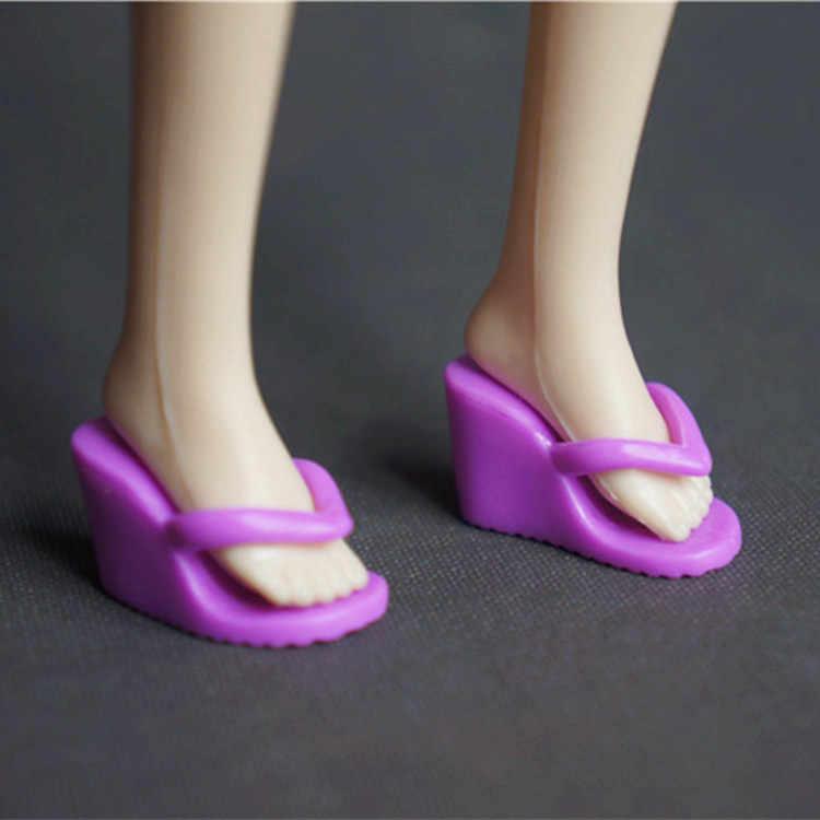Yeni moda ayakkabılar Için barbie bebek 1/6