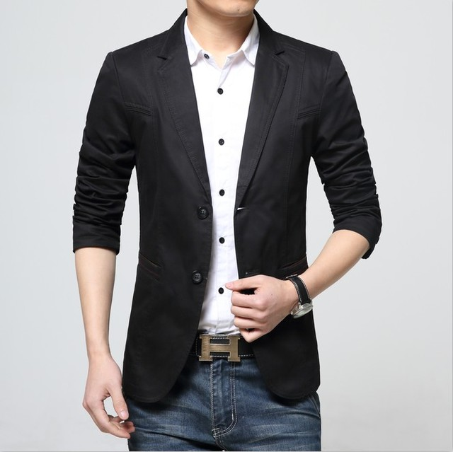 1b493fab7e645 La nueva primavera 2016 hombres de traje para hombre de corea moda juvenil  traje chaqueta informal