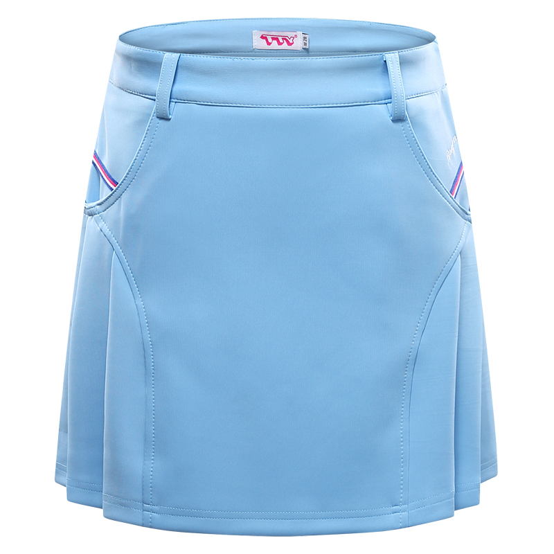 Spring Summer Golf Skirt Summer Skort Sports Tennis Skirt Pleated Skirt Anti-light Women Skirts pleated mesh skirt