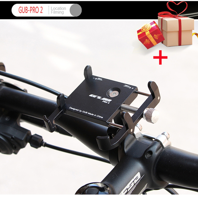 Bicycle Mobile Phone Holder Aluminium Alloy For Redmi 6A 3.5-6.2inch Smartphone GPS MTB Bike Motorcycle Stand Handlebar Extender