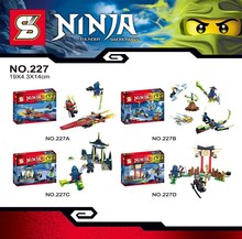 SY227 Spinjitzu Masters Phantom Ninja Kai/Jay/Zane Minifigures Building Block Minifigure Toys Best Toys Compatible with Legoe