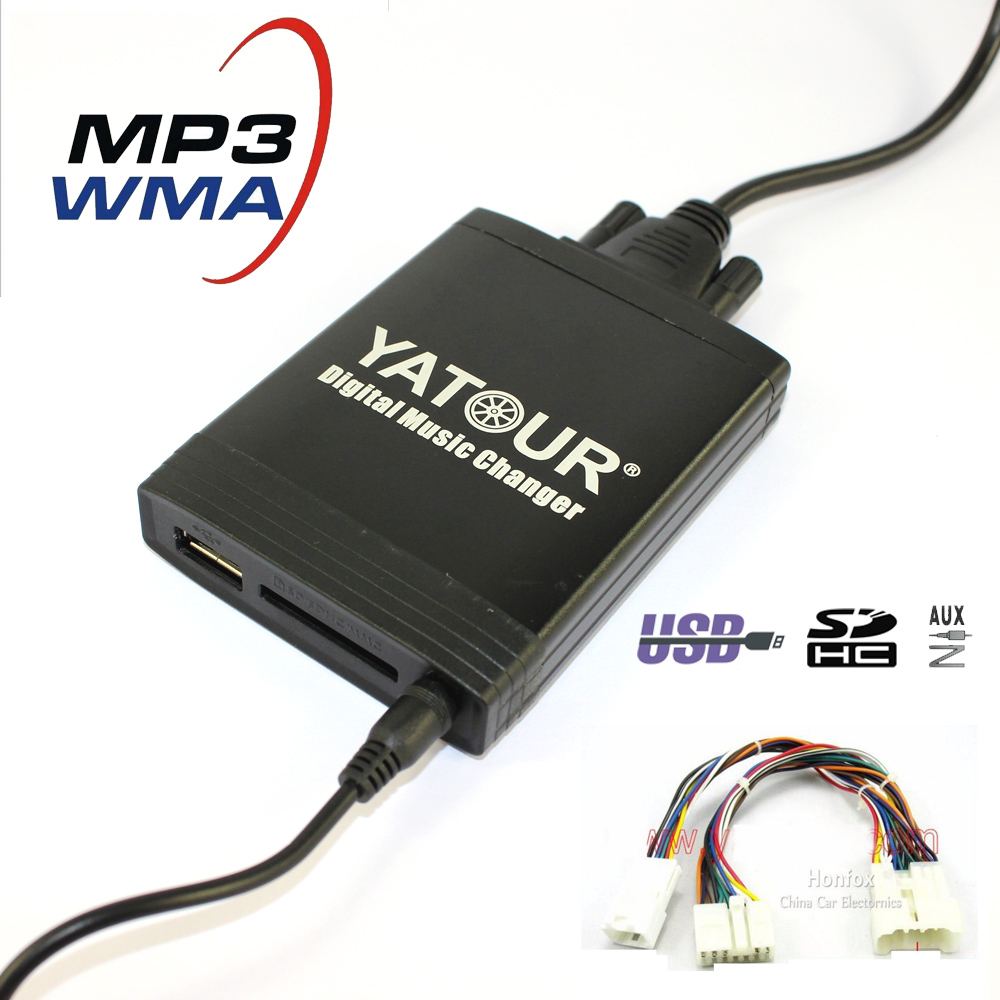 hight resolution of yatour cd changer yt m06 for lexus rx300 1998 2002 usb mp3 sd aux adapter car digital music changer bt interface