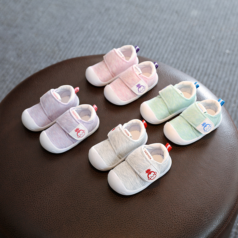 2018 Spring Infant Toddler Shoes High Quality Baby Girls Boys Shoes Cartoon Cotton Non-slip Babies Kids First Walkers Shoes 2018 new baby infant shoes 0 18m boys girls casual shoes soft cartoon high quality spring autumn fashion baby first walkers cute