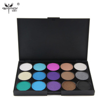 Professional Natural 15 Colors Eye shadow Comestics Long Lasting Makeup Eyeshadow Palette For Women